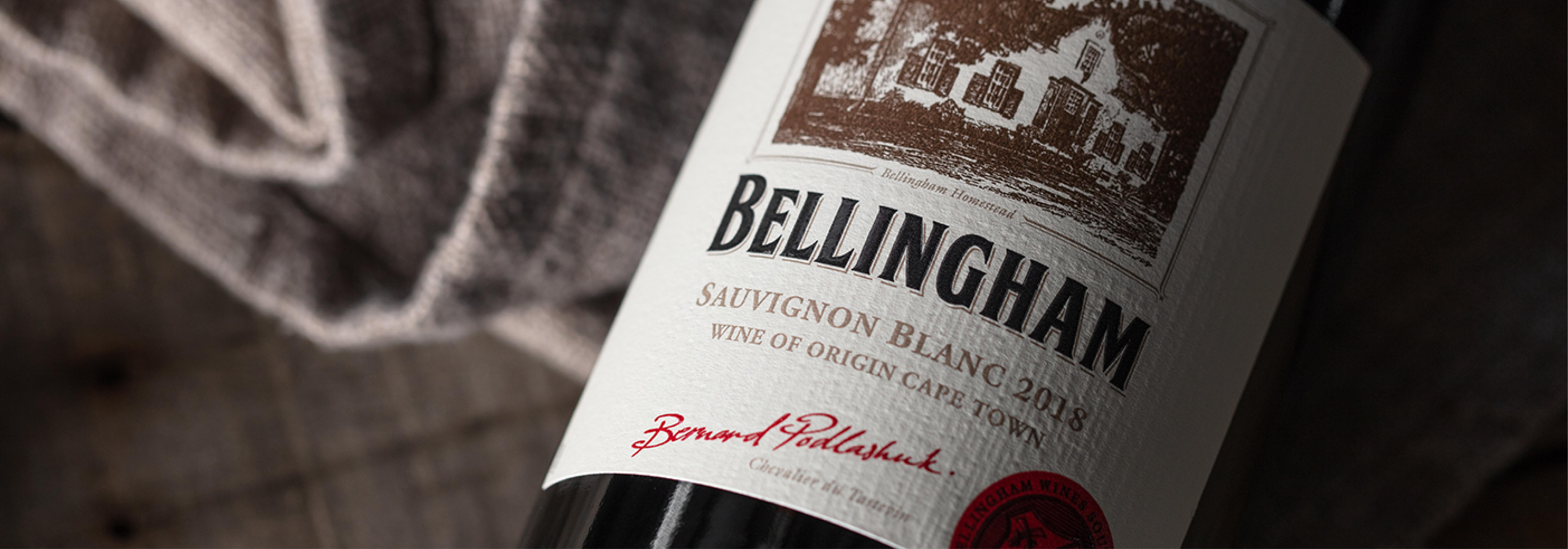 Foto van een Bellingham fles